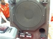 Optimus Pro SW-12 Passive Home Subwoofer Sub Woofer Bass Stereo Speaker Black